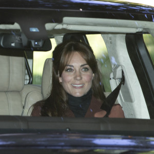 13 Sep 2015, London, England, UK --- The Duke and Duchess of Cambridge, Kate Middleton and Prince William go the Crathie Kirk for Sunday morning prayers in Scotland. Prince Charles was also in attendance. They were seen going to church. They drove from Balmoral Castle to The church in a convoy of cars. Pictured: Kate Middleton, Prince William --- Image by © Jesal / Tanna/Splash News/Corbis